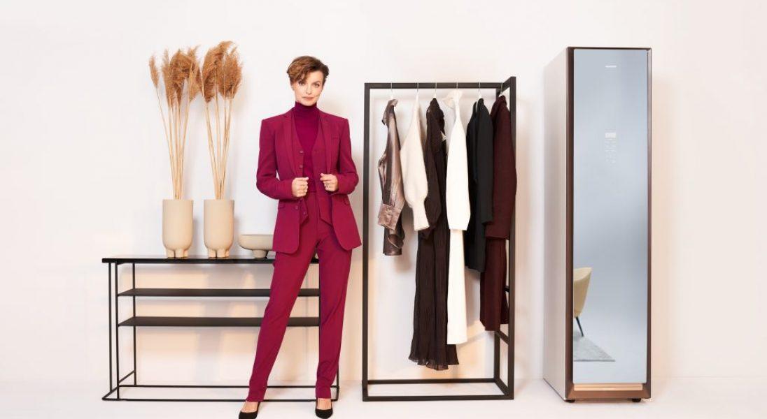 Kasia Sokołowska ambasadorką szafy odświeżającej ubrania Samsung AirDresser