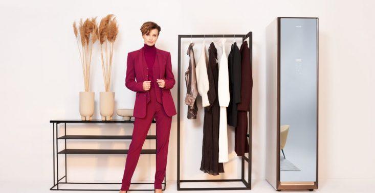 Kasia Sokołowska ambasadorką szafy odświeżającej ubrania Samsung AirDresser<