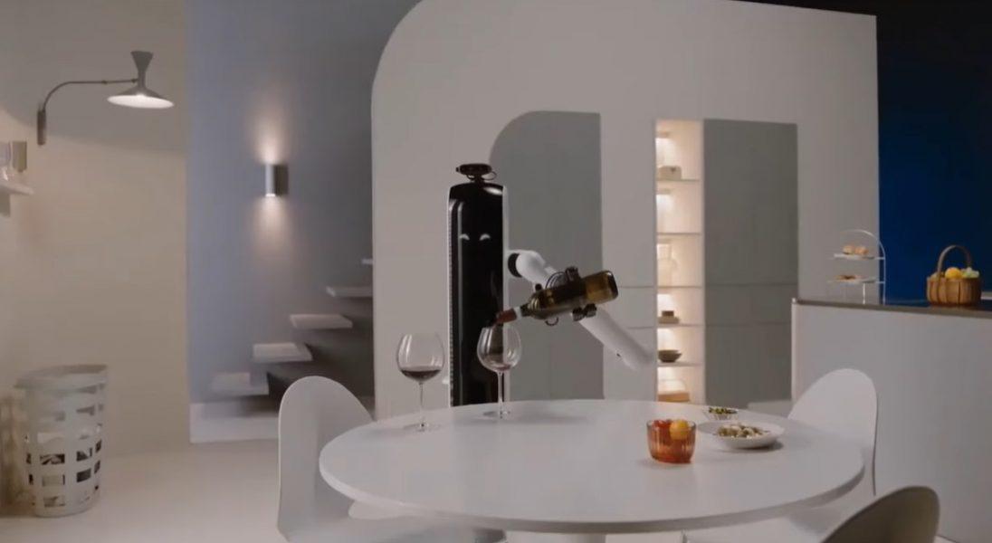 Bot Handy, czyli nowy robot Samsunga, który naleje wina i włoży naczynia do zmywarki
