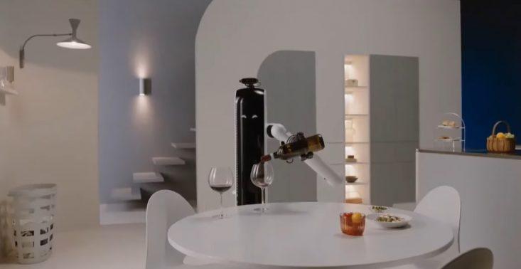 Bot Handy, czyli nowy robot Samsunga, który naleje wina i włoży naczynia do zmywarki<
