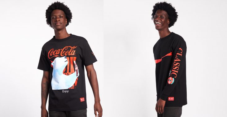 Marka LRG i Coca-Cola przedstawiają wspólną streetwearową kolekcję ubrań<