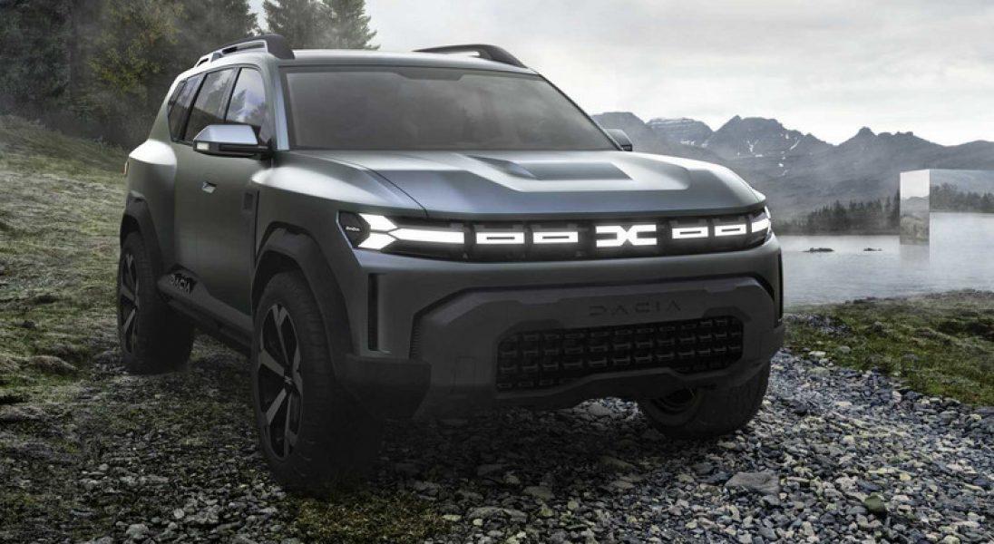 Nowe logo i nowe koncepty. Tak ma wyglądać Dacia Bigster i Łada Niva