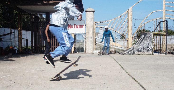 Off-White i Daily Paper otworzyli pierwszy skatepark w Ghanie<