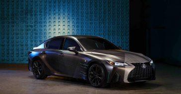 Lexus zaprezentował model IS dla gamerów