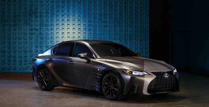 Lexus zaprezentował model IS dla gamerów<