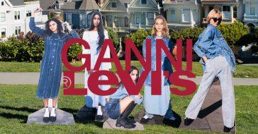 Levis ponownie łączy siły z duńską marką uwielbianą przez influencerki