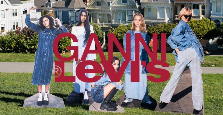 Levi's ponownie łączy siły z duńską marką uwielbianą przez influencerki<