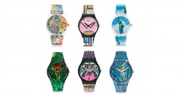Sztuka na zegarku – Swatch i MoMA łączą siły