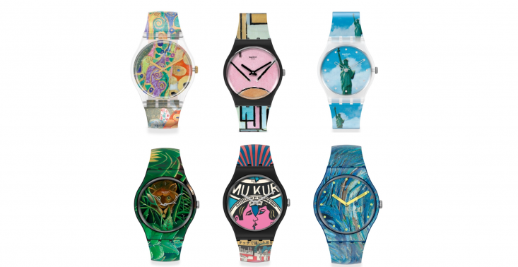 Sztuka na zegarku – Swatch i MoMA łączą siły<