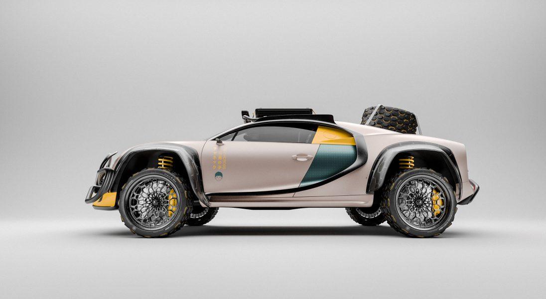 Terracross, czyli futurystyczna i off-roadowa wariacja na temat Bugatti Chirona
