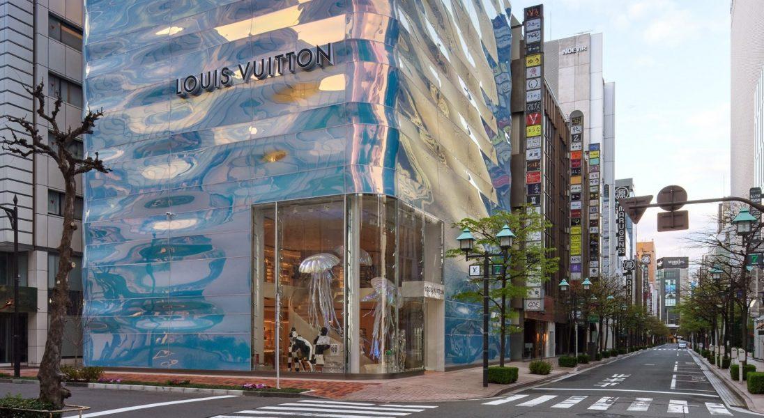 W Tokio pojawił się nowy, futurystyczny butik Louis Vuitton
