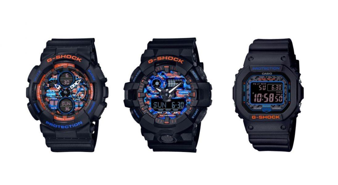 """G-SCHOCK zaprezentowało limitowaną edycję zegarków ,,uzbrojonych"""" w miejski kamuflaż"""