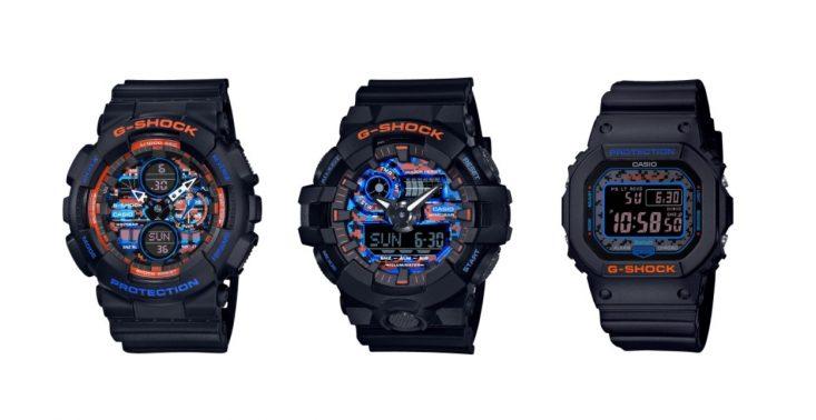 """G-SCHOCK zaprezentowało limitowaną edycję zegarków ,,uzbrojonych"""" w miejski kamuflaż<"""
