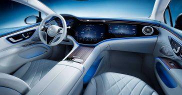Tak wygląda kosmiczne wnętrze Mercedesa EQS