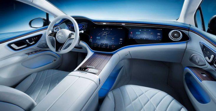 Tak wygląda kosmiczne wnętrze Mercedesa EQS<