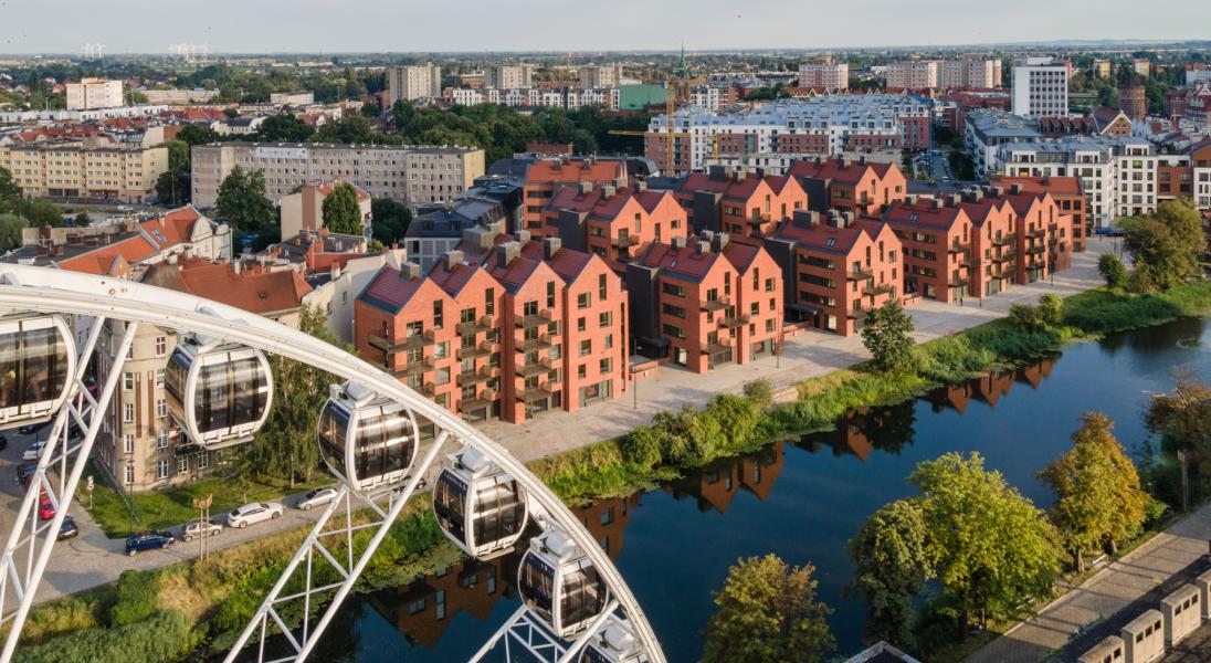 Ekologiczna architektura w Polsce - gdańskie osiedle Riverview (APA Wojciechowski)