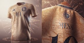 Niesamowity projekt strojów argentyńskiej drużyny piłkarskiej, który stał się viralem