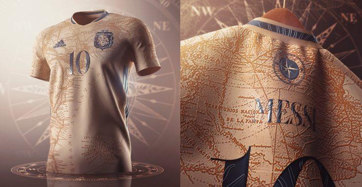 Niesamowity projekt strojów argentyńskiej drużyny piłkarskiej, który stał się viralem<