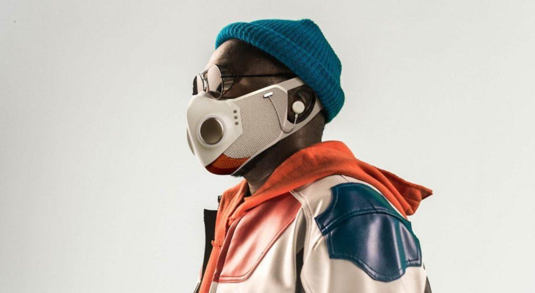 Xupermask, czyli maseczka przyszłości z Bluetoothem i słuchawkami