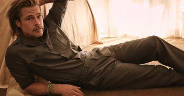 Brad Pitt stworzył kolekcję dla włoskiej marki Brioni