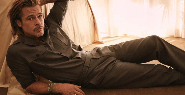Brad Pitt stworzył kolekcję dla włoskiej marki Brioni<