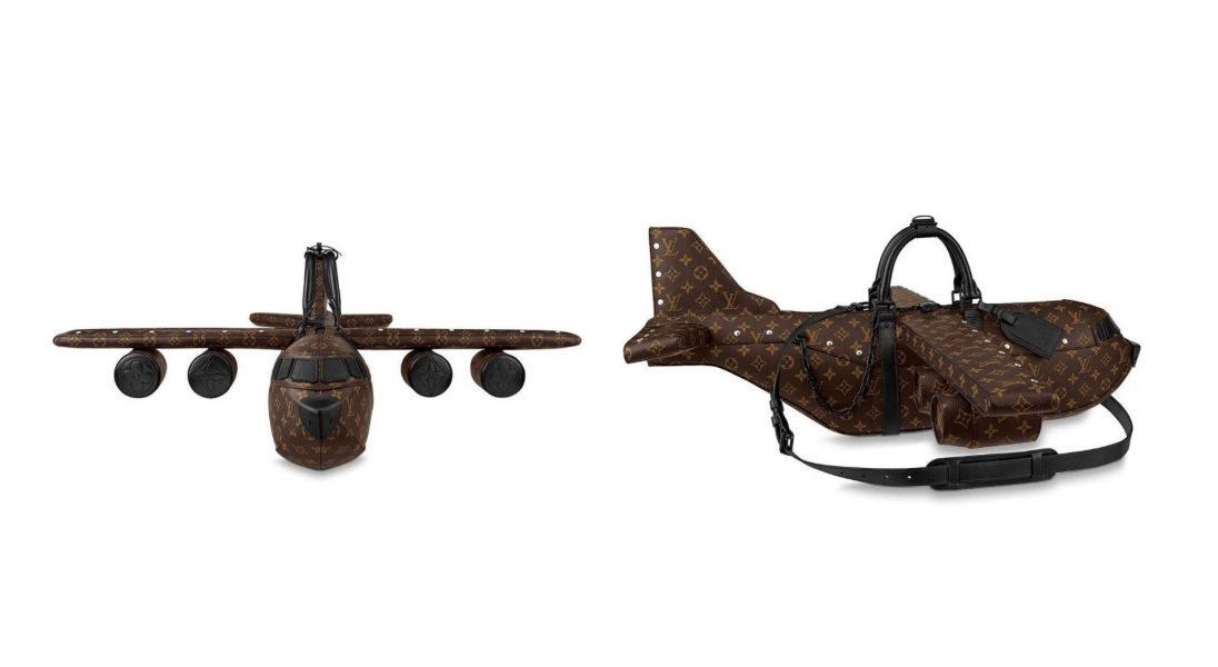 Louis Vuitton sprzedaje torbę do samolotu w kształcie… samolotu
