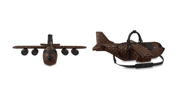 Louis Vuitton sprzedaje torbę do samolotu w kształcie… samolotu<