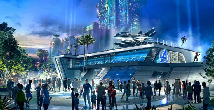 Już wkrótce otwarcie kampusu Avengersów w Disneylandzie<