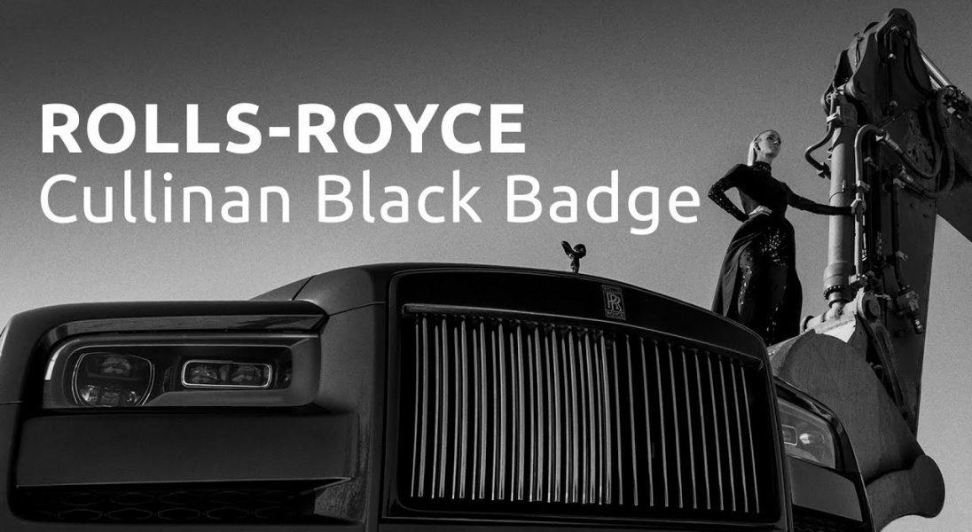 Szymon Brodziak w ekspresyjnym filmie uwiecznił piękno Rolls-Royce'a Cullinan Black Badge