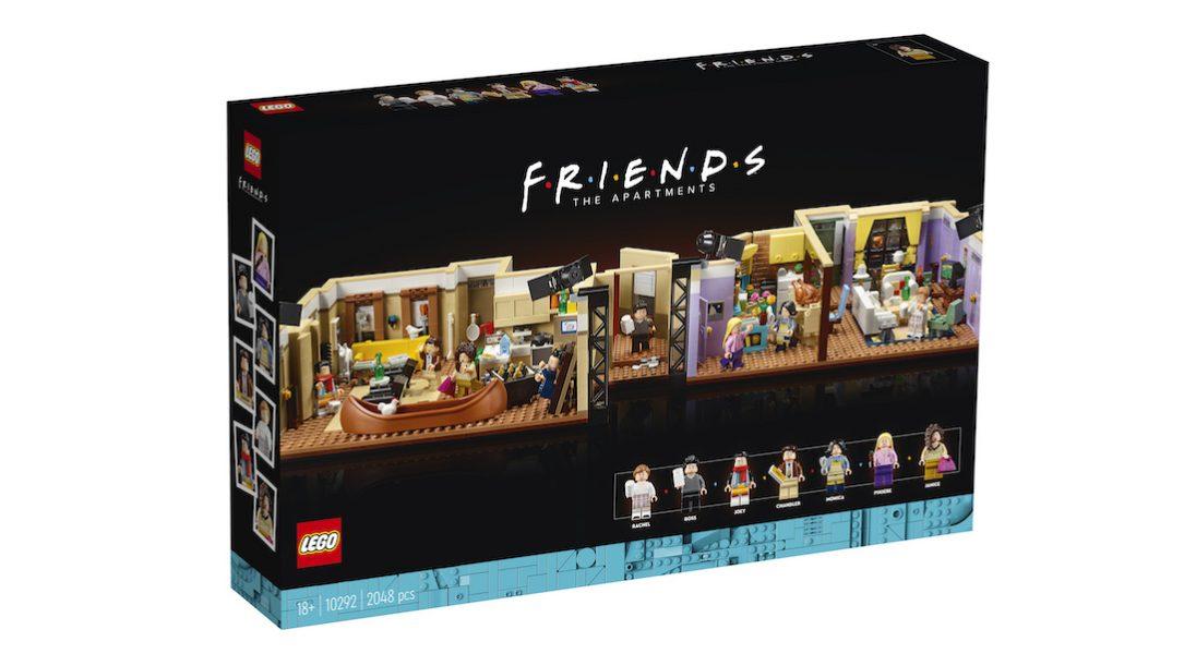 """LEGO stworzyło zestaw z kultowego serialu """"Przyjaciele"""""""