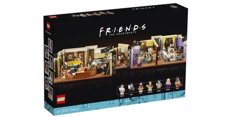 """LEGO stworzyło zestaw z kultowego serialu """"Przyjaciele""""<"""