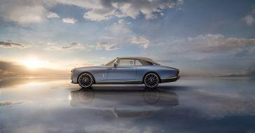 Rolls-Royce Boat Tail - najdroższy samochód na świecie, który jest inspirowany kształtem jachtu