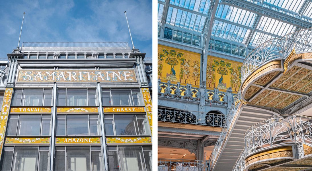 """Słynne centrum handlowe """"La Samaritaine"""" otwiera się po 16 latach"""