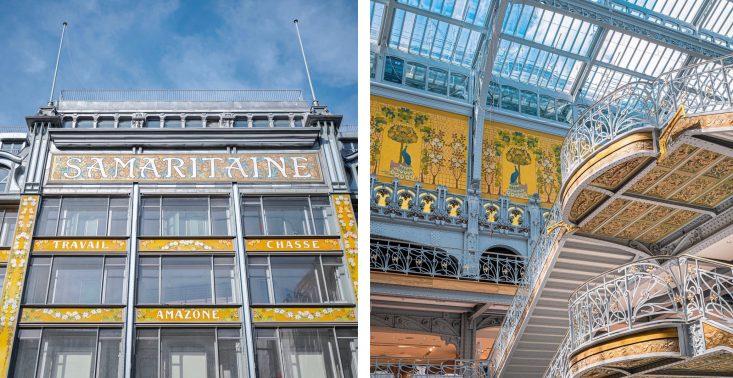 """Słynne centrum handlowe """"La Samaritaine"""" otwiera się po 16 latach<"""