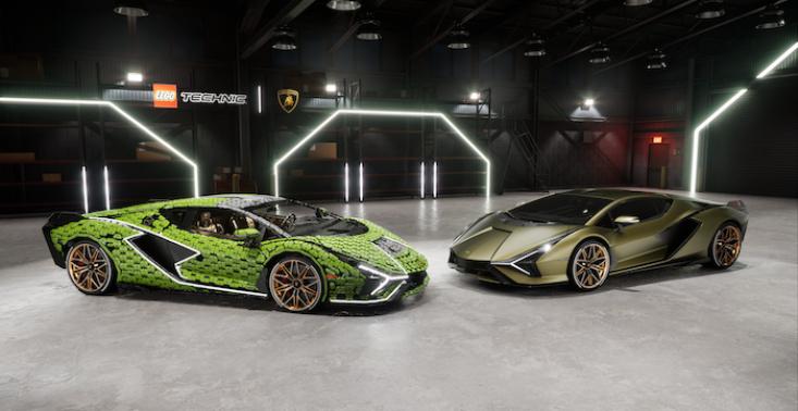 LEGO prezentuje Lamborghini Sián FKP 37 w skali  1:1<