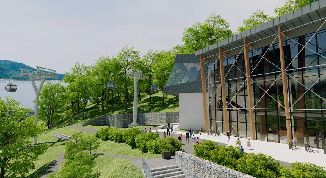 Nad zaporą w Solinie powstaje nowy ośrodek turystyczny i kolej widokowa