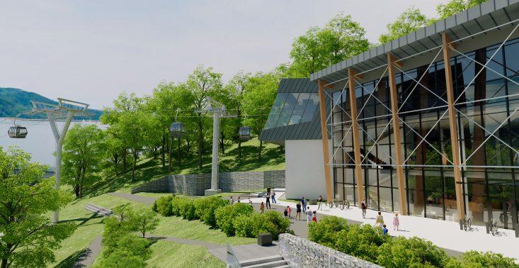 Nad zaporą w Solinie powstaje nowy ośrodek turystyczny i kolej widokowa<