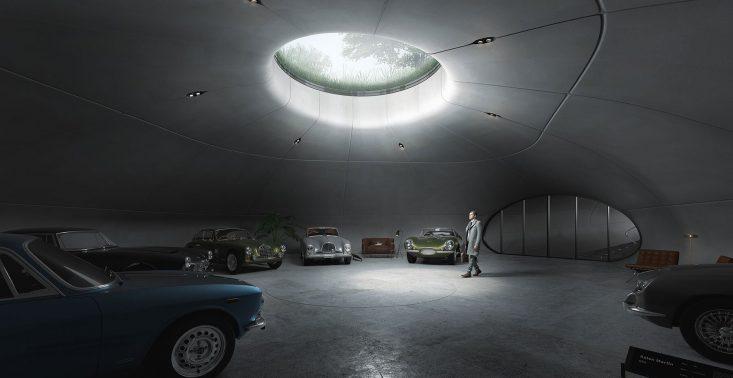 W Warszawie powstaje podziemny showroom dla kolekcji samochodów Aston Martin<
