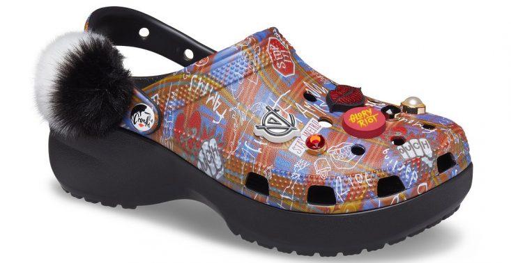 Marka Crocs wypuściła linię butów inspirowaną postacią Cruelli de Mon<