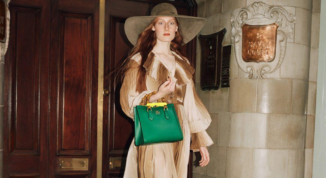 Gucci przywraca swoją kultową torbę, aby upamiętnić 60. urodziny księżnej Diany
