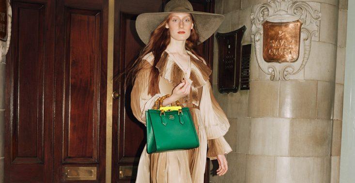 Gucci przywraca swoją kultową torbę, aby upamiętnić 60. urodziny księżnej Diany<