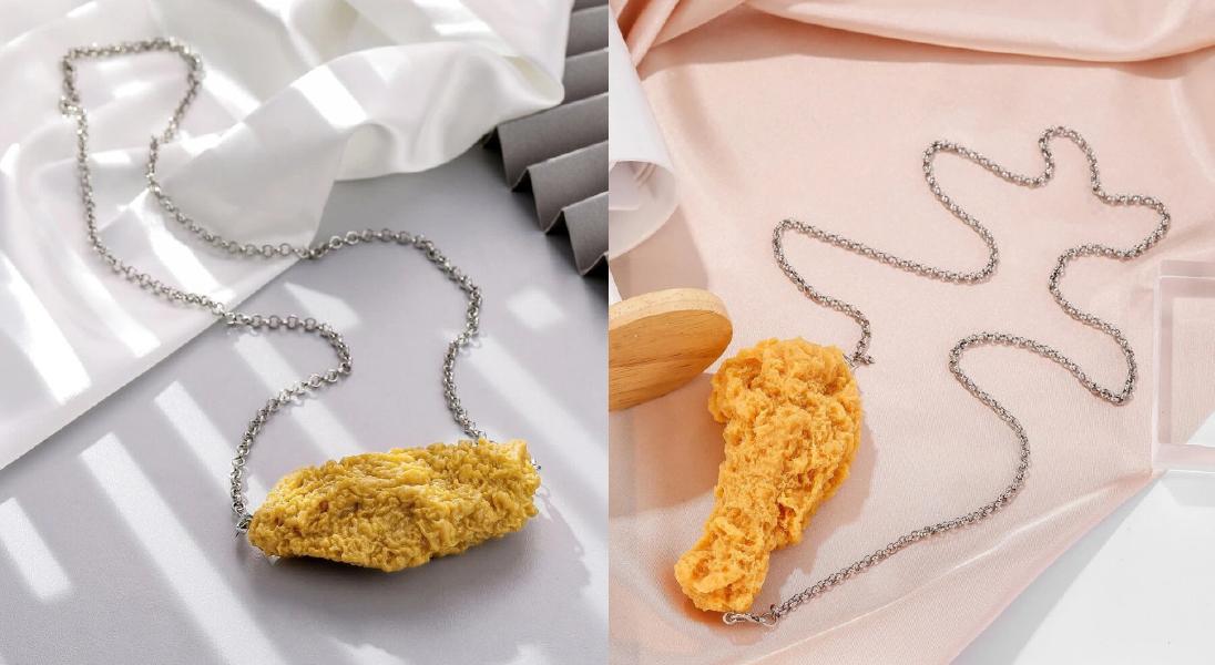 Popularna marka fast fashion wypuszcza... kurczakową biżuterię. Czy takiej mody dziś potrzebujemy?