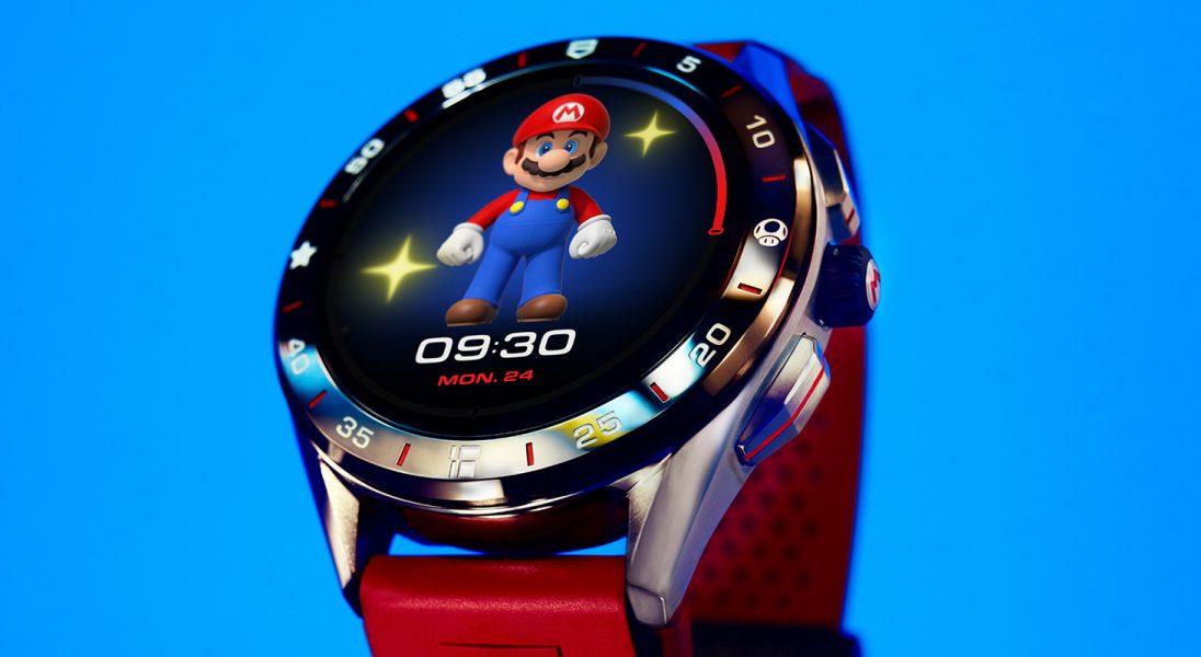 TAG Heuer Nintendo stworzyli smartwatch dla fanów gry Super Mario
