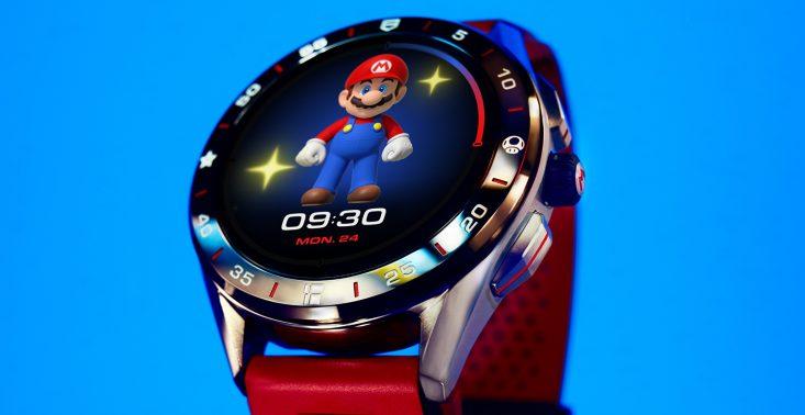 TAG Heuer Nintendo stworzyli smartwatch dla fanów gry Super Mario<