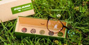 Czy okulary mogą być EKO? Te oprawki zostały zrobione z materiału pochodzenia roślinnego