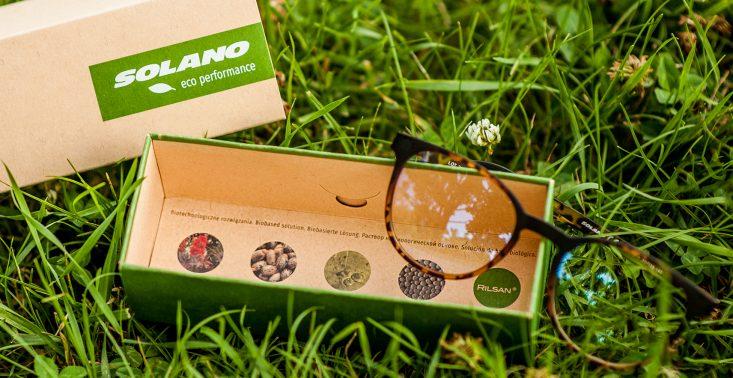 Czy okulary mogą być EKO? Te oprawki zostały zrobione z materiału pochodzenia roślinnego<