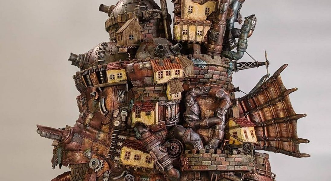 Artysta Studson Studio tworzy kreatywne konstrukcje ze śmieci