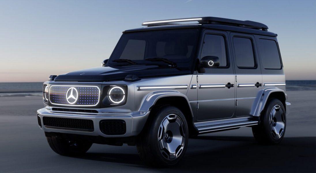 Mercedes-Benz prezentuje Concept EQG, czyli elektryczną wersję klasy G