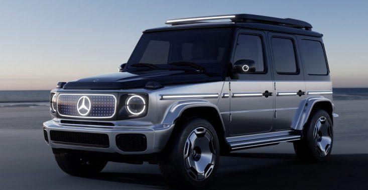 Mercedes-Benz prezentuje Concept EQG, czyli elektryczną wersję klasy G<