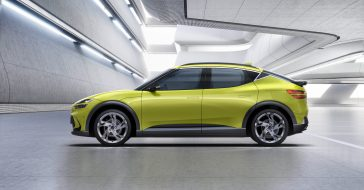 Hyundai prezentuje nowy model samochodu elektrycznego Genesis GV60